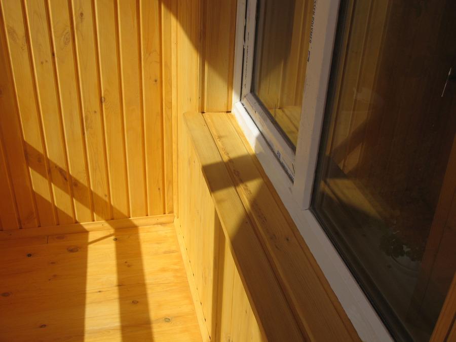 Фотогалерея - отделка балконов.